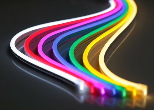 Surnie 12v Led Rope Lights 50ft