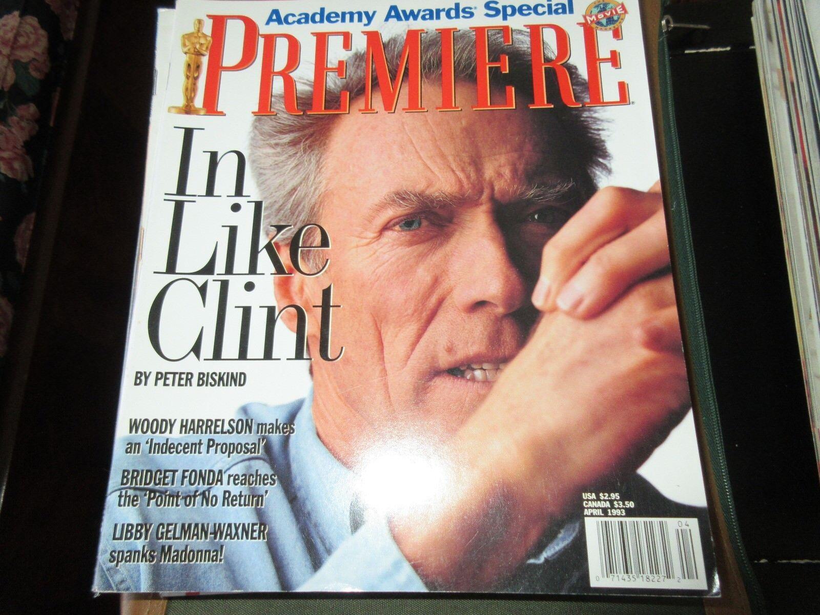 Clint Eastwood , Premiere Magazine , April , 1993 , Aca
