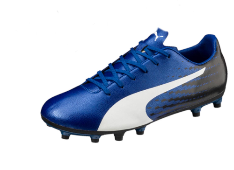 Puma Evo Speed 17.5 FG Football Boots - Free Postage bluee