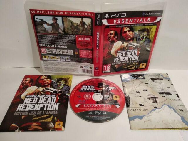 Red Dead Redemption Game of year Edition Essentials PS3 Pal Comme neuf Complet