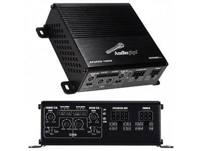 NEW Micro 1000W Compact FourChannel Car Amplifier.Power Speakers w// Amp.4channel