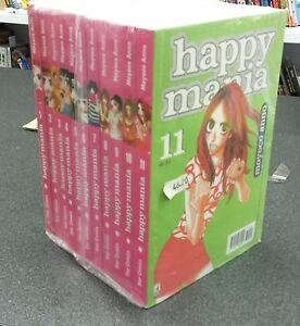 HAPPY-MANIA-Moyoco-Anno-serie-completa-1-11-Star-Comics