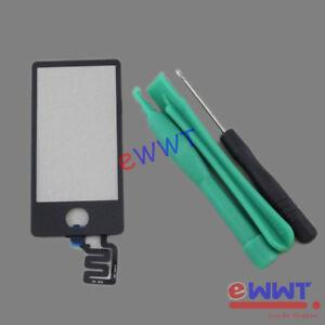 Ersatz-Schwarz-LCD-Touchscreen-Glas-Werkzeuge-fuer-iPod-Nano-7th-Gen-7-ZVLT541