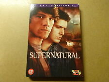 2-DISC DVD BOX / SUPERNATURAL: SERIE / SEASON 3 - VOLUME 1