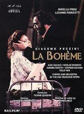 Puccini - La Boheme / Freni, Pavarotti, Severini, San Francisco Opera DVD, Italo