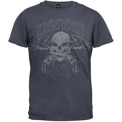 Lynyrd Skynyrd - Biker Patch Adult Mens T-Shirt