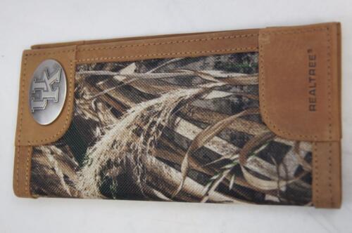 ZEP-PRO Kentucky Wildcats REALTREE MAX-5 Camo WALLET BURLAP GIFT BAG