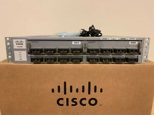 Cisco-WS-C4900M-8-Port-10-GbE-Ethernet-Switch-w-WS-X4904-10GE-15-2-OS-Dual-AC