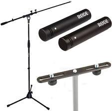 Rode M5 MP Mikrofon Set + K&M Stereo Bar 23550 + KEEPDRUM Mikrofonständer