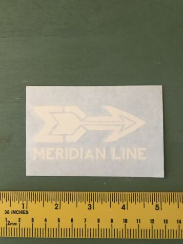 Meridian Line Decal//sticker Outdoors//hiking