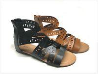 Brand Women's Fashion Gladiator Cage Sandals
