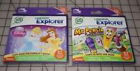 Leapfrog Leapster Explorer Mr Pencil And Disney Princess Sealed