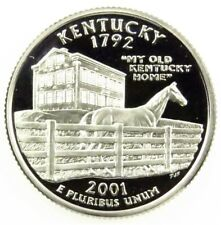 2001-S 25C Kentucky (Proof) 50 States Quarter