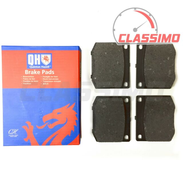 Front Brake Pads Set of 4 for TRIUMPH TR4 TR5 & TR 6 - 1960 to 1974 - QH
