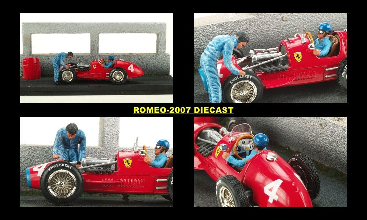 1 43 Microworld Ferrari F500 F2 Alberto Ascari Diorama 1952 EXTREMALY RARE NEW