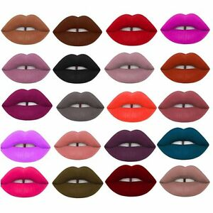 25-Colors-Velvet-Makeup-Lip-Stick-Pencil-Matte-Lipstick-Lip-Gloss-Long-Lasting