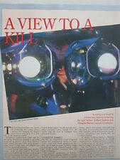 5/1991 ARTICLE 4 PAGES ADVANCED HELMET TECHNOLOGY SEXTANT ALPHA HELMET GEC ELBIT