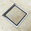 miniatura 13 - 304 IN ACCIAIO INOX SCARICO di doccia scadenza Pavimento Scarico befliesbar 150mm