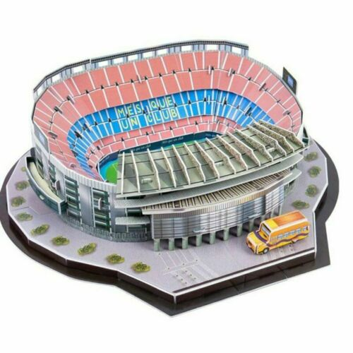 Man Utd Liverpool Arsenal /& More Football Club 3D Stadium Model Jigsaw Puzzle