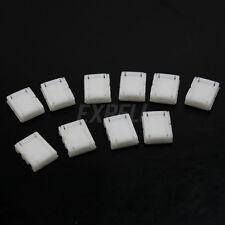10 Connettori Chiusura Bobina Striscia LED 3528 SMD Singolo 8mm Adattatori 2 Pin