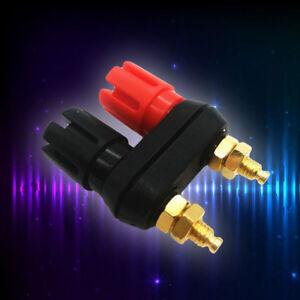 Dual-Female-Banana-Plug-Terminal-Binding-Post-for-Speaker-Amplifier-Hot-1pcs