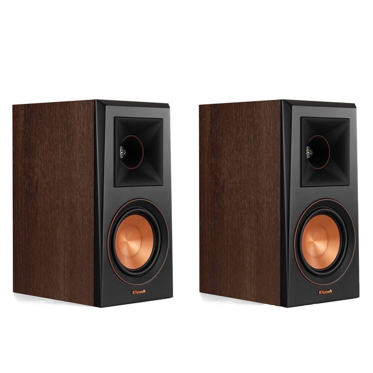 Klipsch RP-500M Bookshelf Speaker -Walnut (Pair)