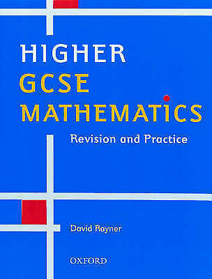 Higher GCSE Mathematics: Revision and Practice-ExLibrary