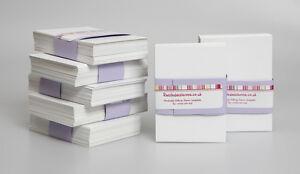 ATC Blank White Cards x 50