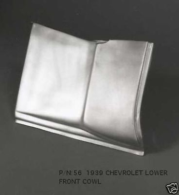 Chevrolet Chevy Car Master Deluxe Cowl Panel Left 1939 #56L EMS