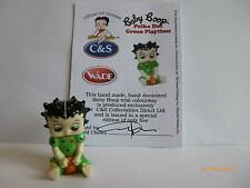Wade Whimsie BABY BETTY BOOP a pois verde gioco le 5