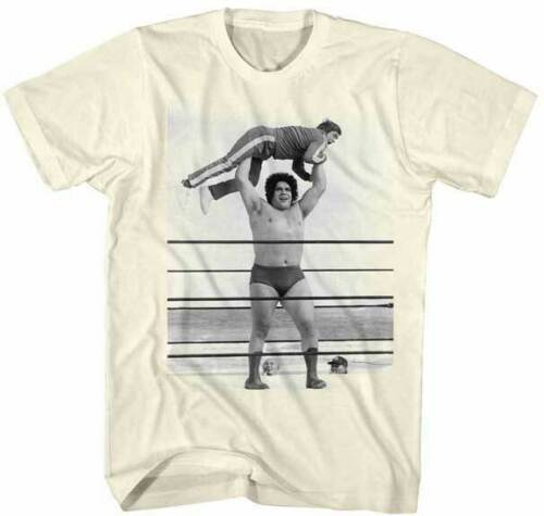 Andre The Giant Wrestling Licensed Adult T-shirt