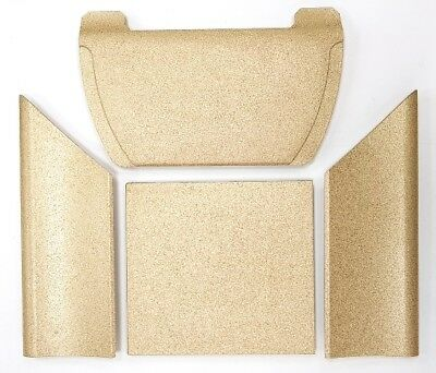 Schiena vermiculite 513x193x10 mm Per Stufa Wall Cadel