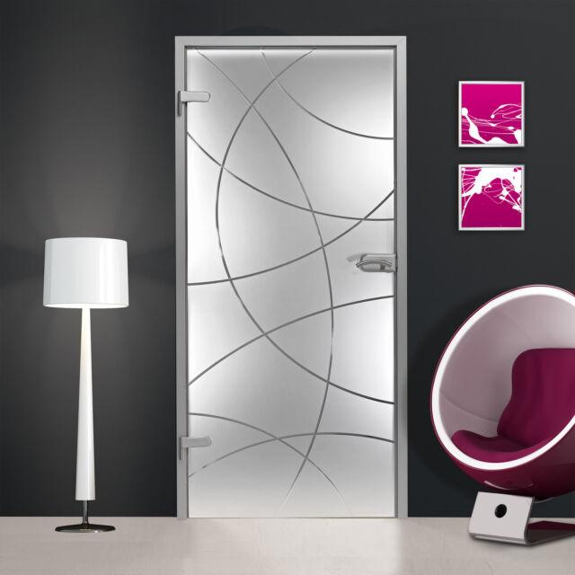 Ganzglastür Glastür Tür Innentür Ganzglastüren Türen  16 verschiedene Modelle