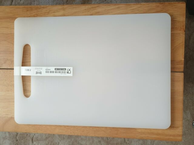 Professional Chopping Board IKEA Plain White Plastic Cutting Kitchen Utensils