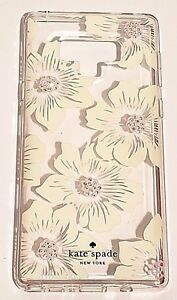 cheaper 7a3e3 314eb Details about Kate Spade New York Hardshell Case For Samsung Galaxy Note 9  - Floral Clea
