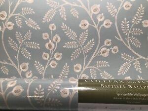 Details About Colefax Fowler Morrigan Old Blue Botanical Wallpaper 0715405 140r