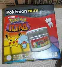 brand new nintnedo game Pokemon mini teris