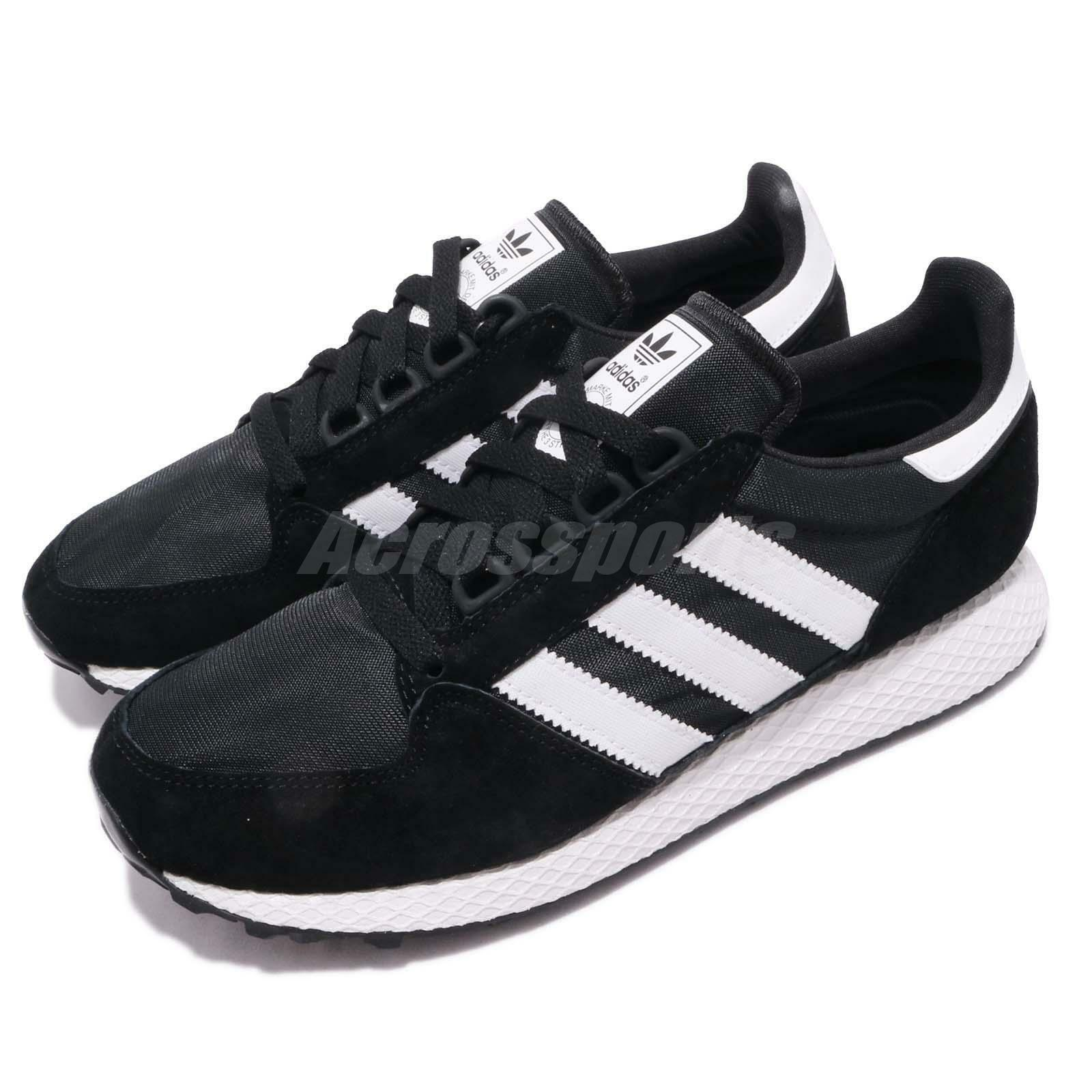 Adidas Originals Forest Grove Black White Men Running Casual shoes Sneaker B41550