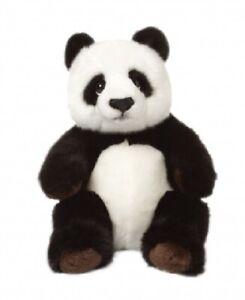 WWF-00542-Panda-Bear-Sitting-22-CM-Soft-Stuffed-Toy-Plush-Collection