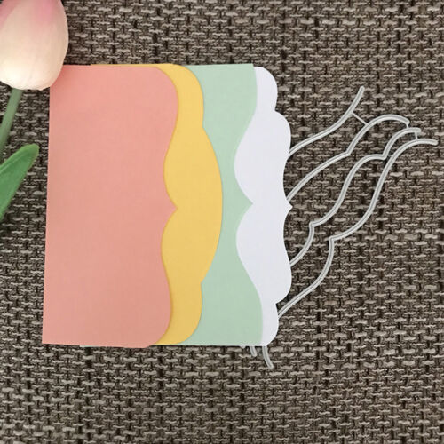 Cover Design Metal Cutting Die For DIY Scrapbooking Album Paper Card I  M/&R