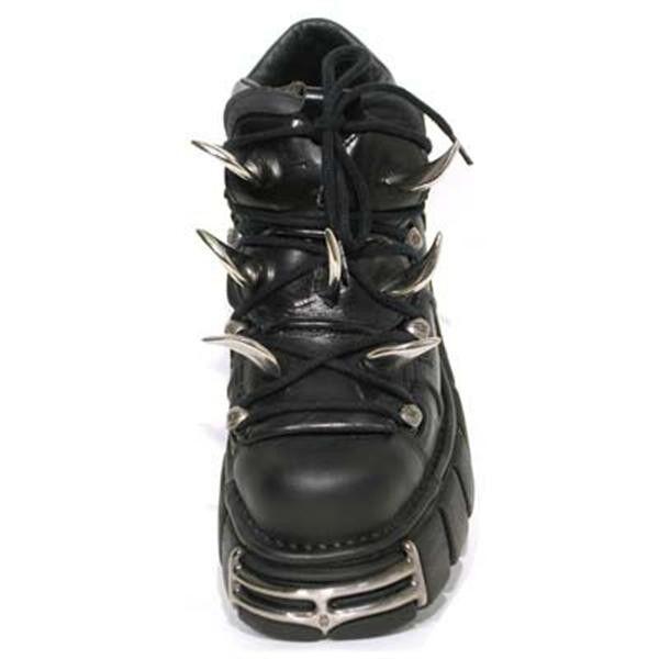 New Rock Gothic Schuh 112-S1 Nieten schwarz Gothic Rock f242f9