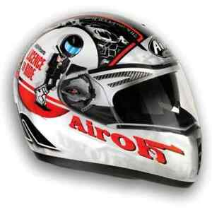 casco airoh pit one xr integrale capacete helmet moto scooter casque helm ebay. Black Bedroom Furniture Sets. Home Design Ideas