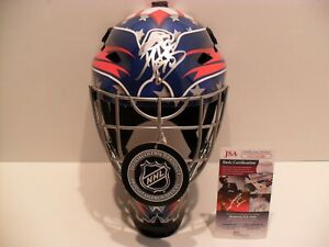 Braden Holtby Autographed Washington Capitals Full Size F S Helmet Mask Jsa Coa Ebay