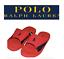 Polo-Ralph-Lauren-Mens-Sandals-Red-Slides-Pony-Flip-Flops-Canvas-9-10-11-12-13 thumbnail 1