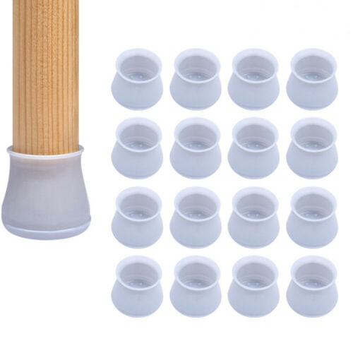 4//16PCS Silicone Chair Furniture Leg Feet Protection Table Cap Cover Protector