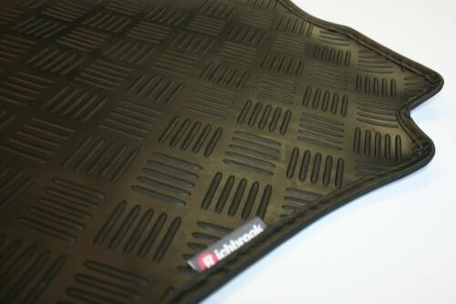 Land Rover Range Rover Sport (06-13) Richbrook 3mm Black Car Mats - Leather Trim