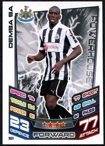 C440 Voetbal Demba Ba Newcastle Utd #161 Topps Match Attax Football 2012-13 Trade Card Verzamelkaarten: sport