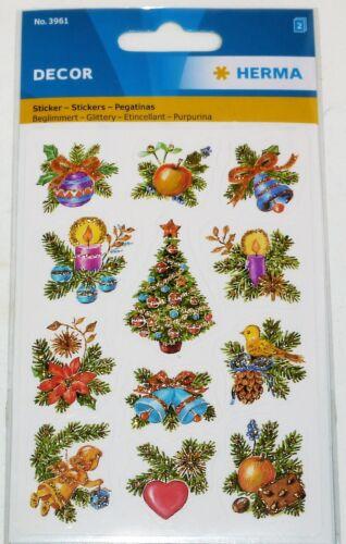 Sticker Aufkleber Weihnachten Geschenk Advent Neujahr Fenster Brief Papier Filz