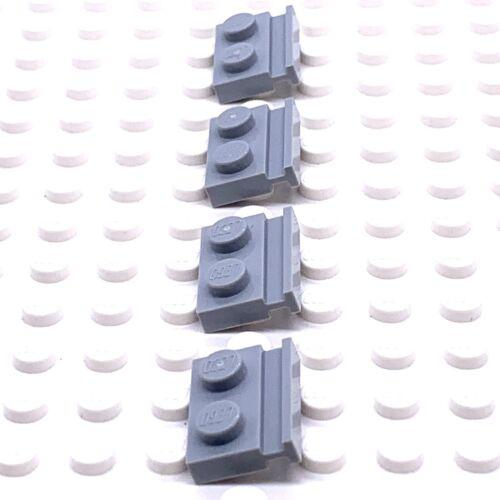 LEGO Part 4211568 1x2 plaque avec Toboggan X4 32028 Lumière Gris bleuâtre