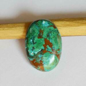 Natural-Chrysocolla-Gemstone-Cabochan-29-5-Cts-Jewelry-Making-Oval-Shape-R24450